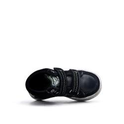 Basket enfant noire à scratch