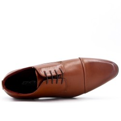 Tan lace derby