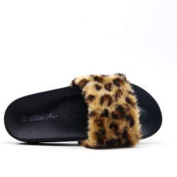 Leopard printed comfort slat