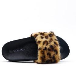 Listón de confort estampado leopardo