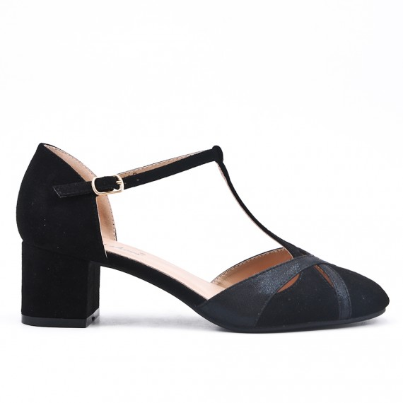 chaussure petit talon carree