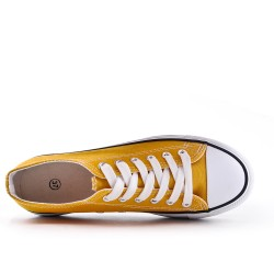 Yellow Lace Tennis Shoes