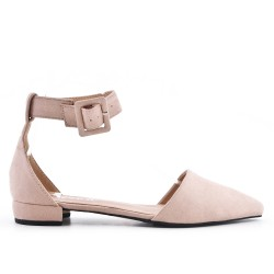 Pink ballerina with buckle