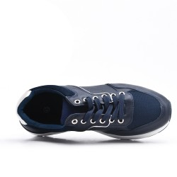 Blue sneaker with lace