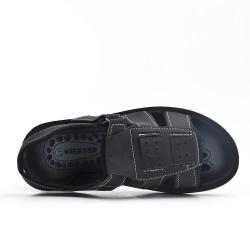Sandale homme noire