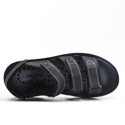 Black man sandal with flanges