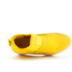 Basket montante jaune