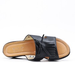 Black imitation leather slate