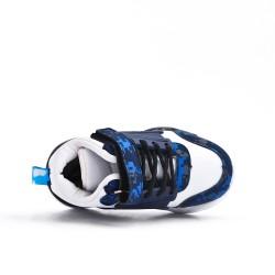 Zapatilla de deporte blanco para niños con encaje