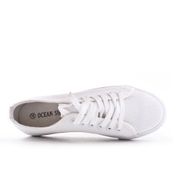 Canvas lace tennis