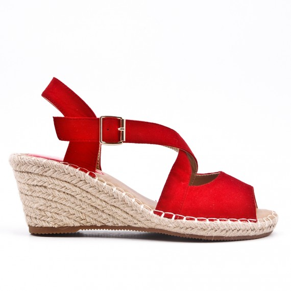 With Wedge Red Sole Sandal Espadrille WD2HYe9IE