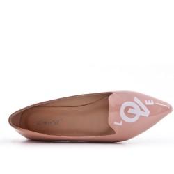 Bailarina de charol rosa