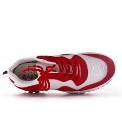 Basket basse rouge à lacet