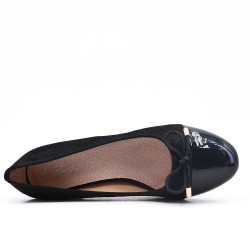 Large size - Black knotted pump