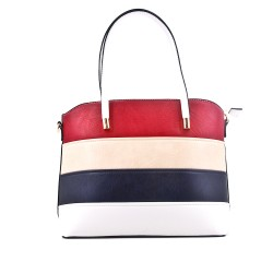 Multicolored handbag