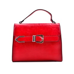 Handbag with buckle