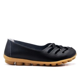Disponible en 8 colores - Zapato confort de piel sintética