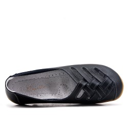 Available in 8 colors -Felt leather comfort shoe