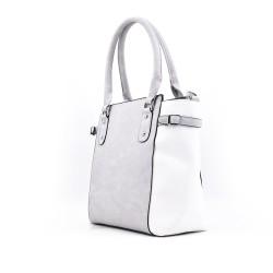 Two-tone handbag