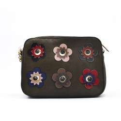 Crossbody bag with jewels