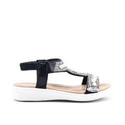 Sandal girl black pearl
