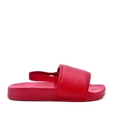 Red girl sling imitation leather