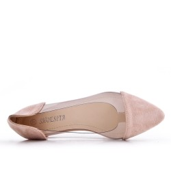 Pink ballerina with transparent detail