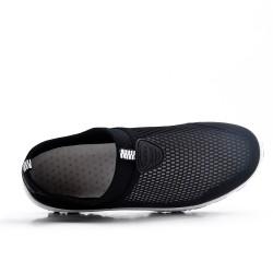 Zapato deportivo negro para poner
