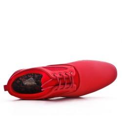 Zapato de encaje rojo