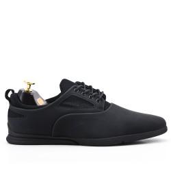 Zapato de encaje negro